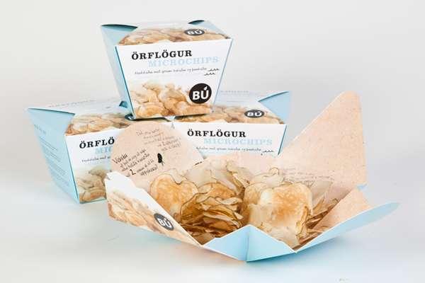 Paper-Thin Potato Chips