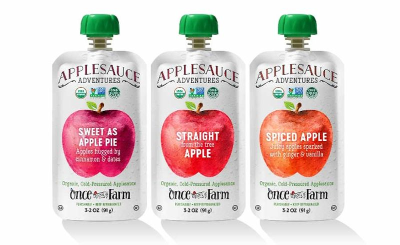 Cold-Pressed Applesauces