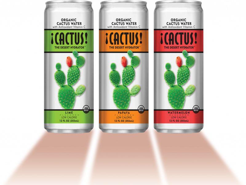 Desert-Inspired Hydration Drinks