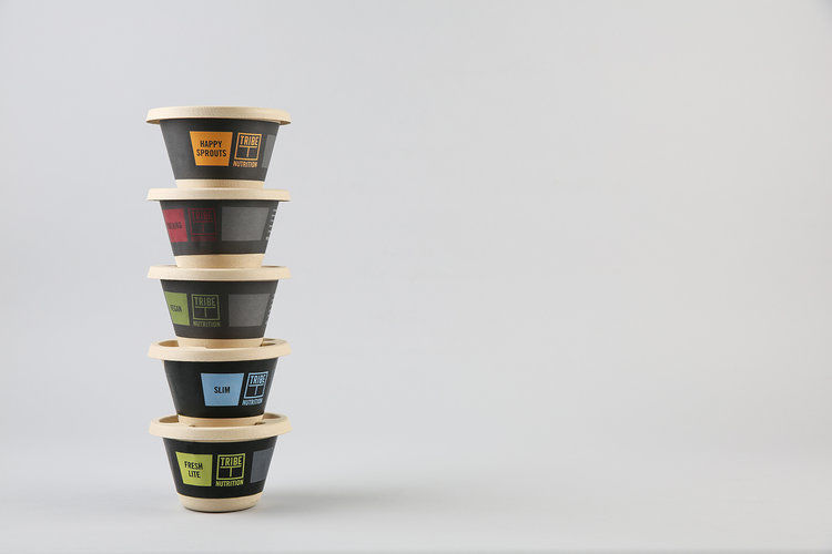 Organic Cafe Packaging Sets