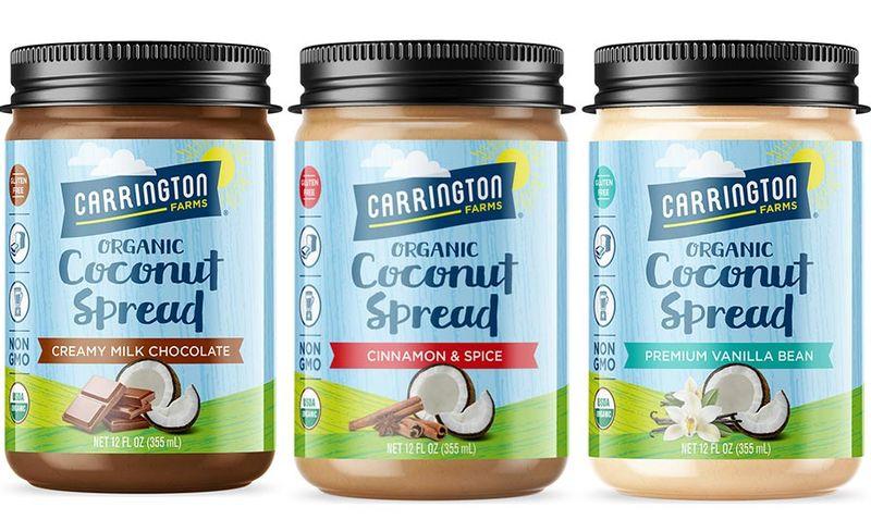 Vegan Coconut-Based Spreads