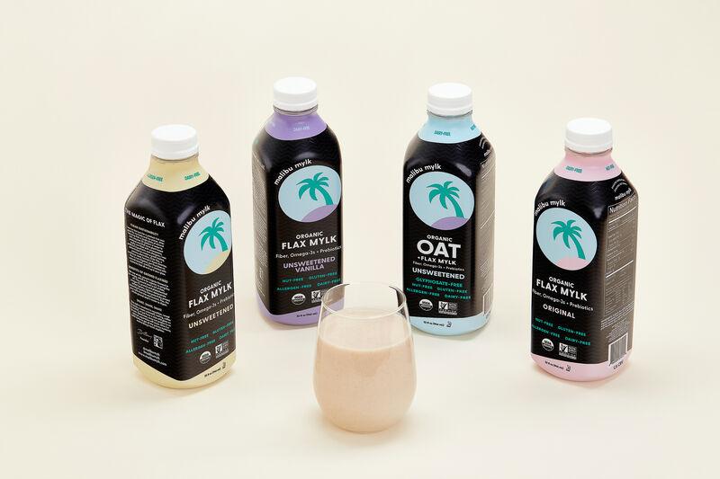 Organic Flax Milk Alternatives