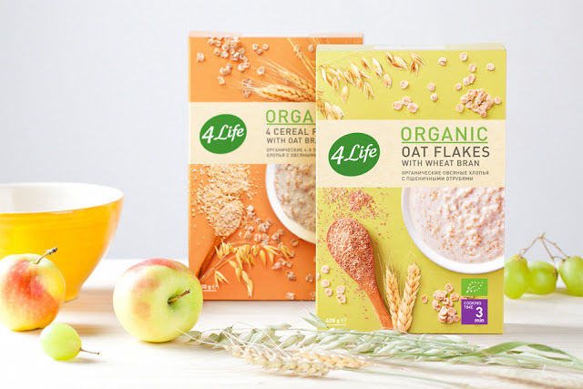 Organic Oatmeal Packaging