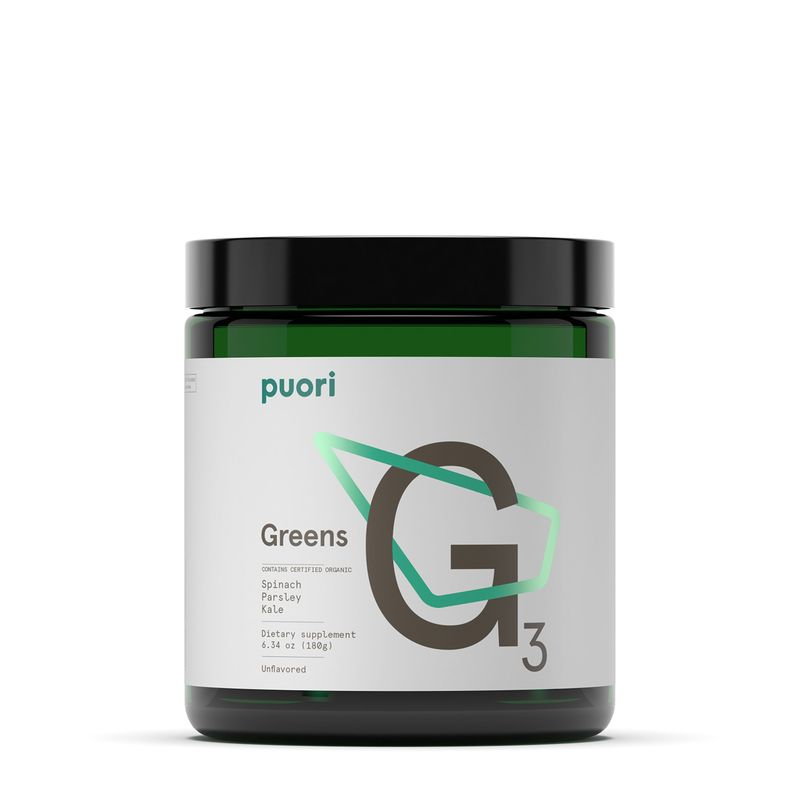 Green Nutrient-Dense Supplements
