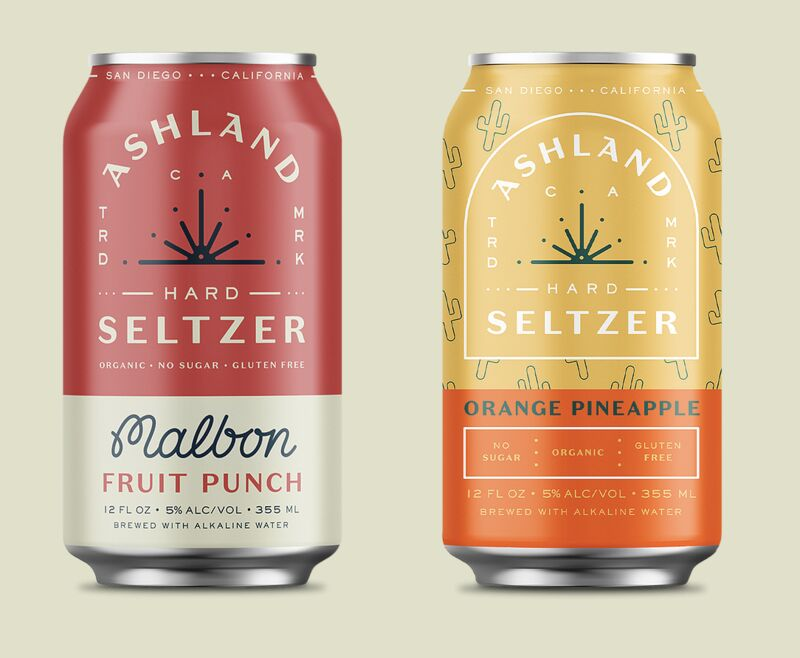 Flavorful Organic Hard Seltzers