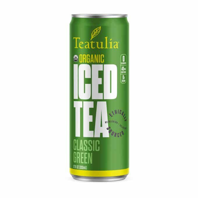 Cold-Brewed Canned Teas