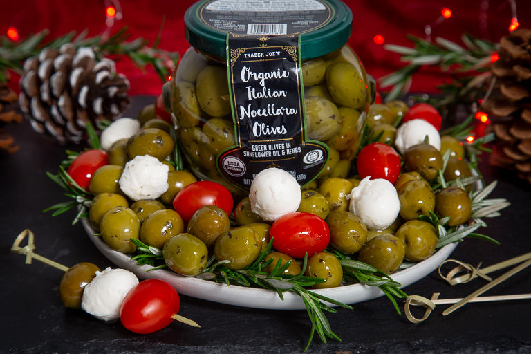 Herb-Infused Organic Olives