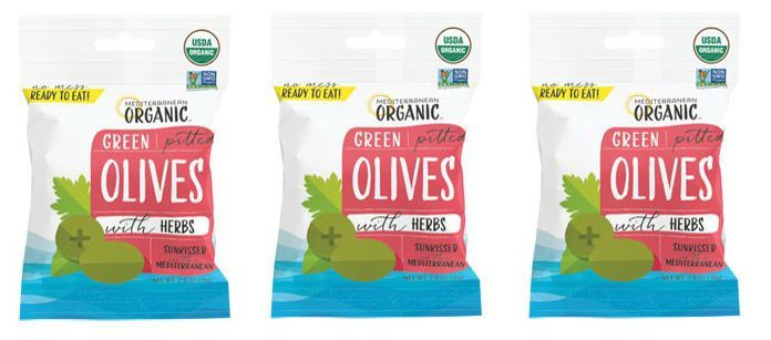Green Olive Snack Packs