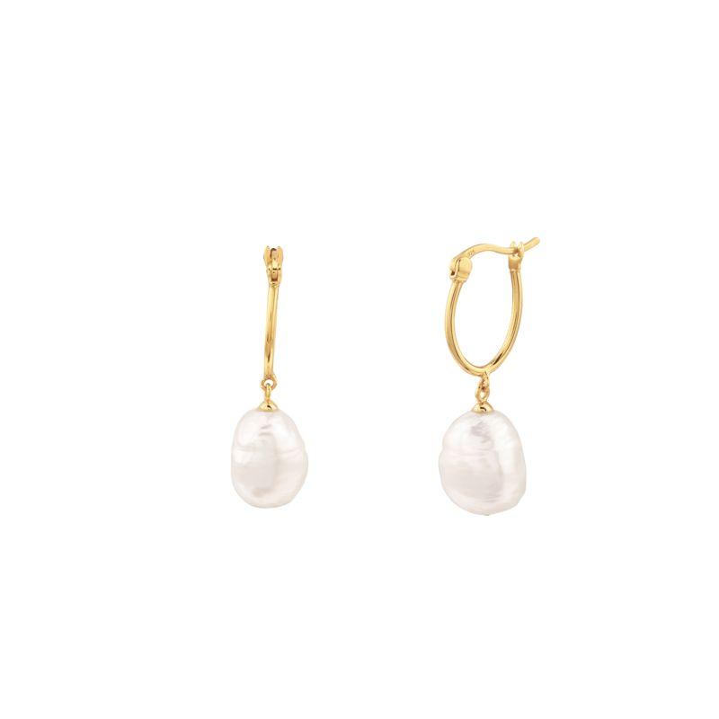 Elevated Pearl Earrings