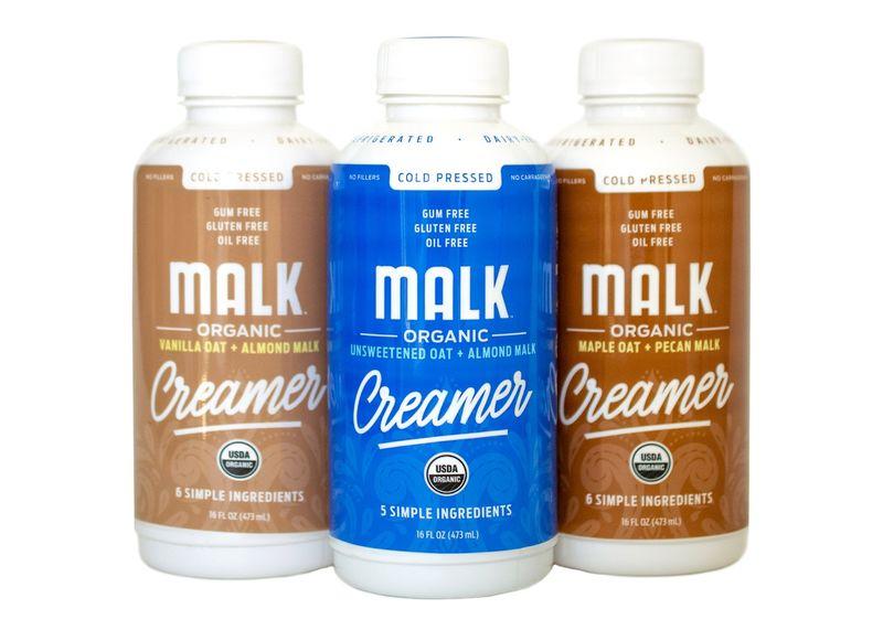 Minimalist Plant-Based Creamers