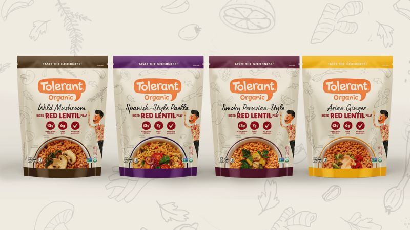 Organic Legume-Rice Alternatives