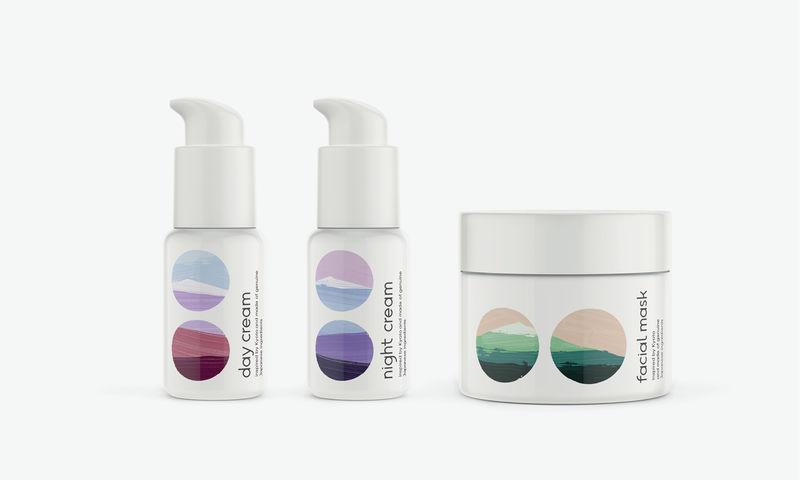 Landscape Cosmetics Branding