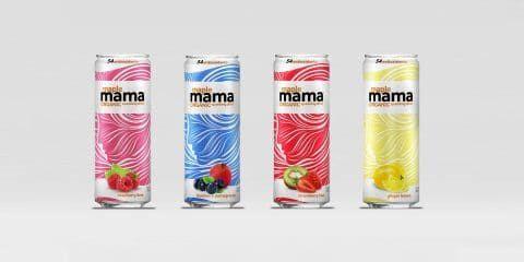 Maple-Sweetened Sparkling Drinks