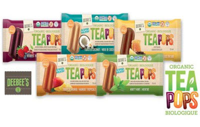 Organic Tea Popsicles