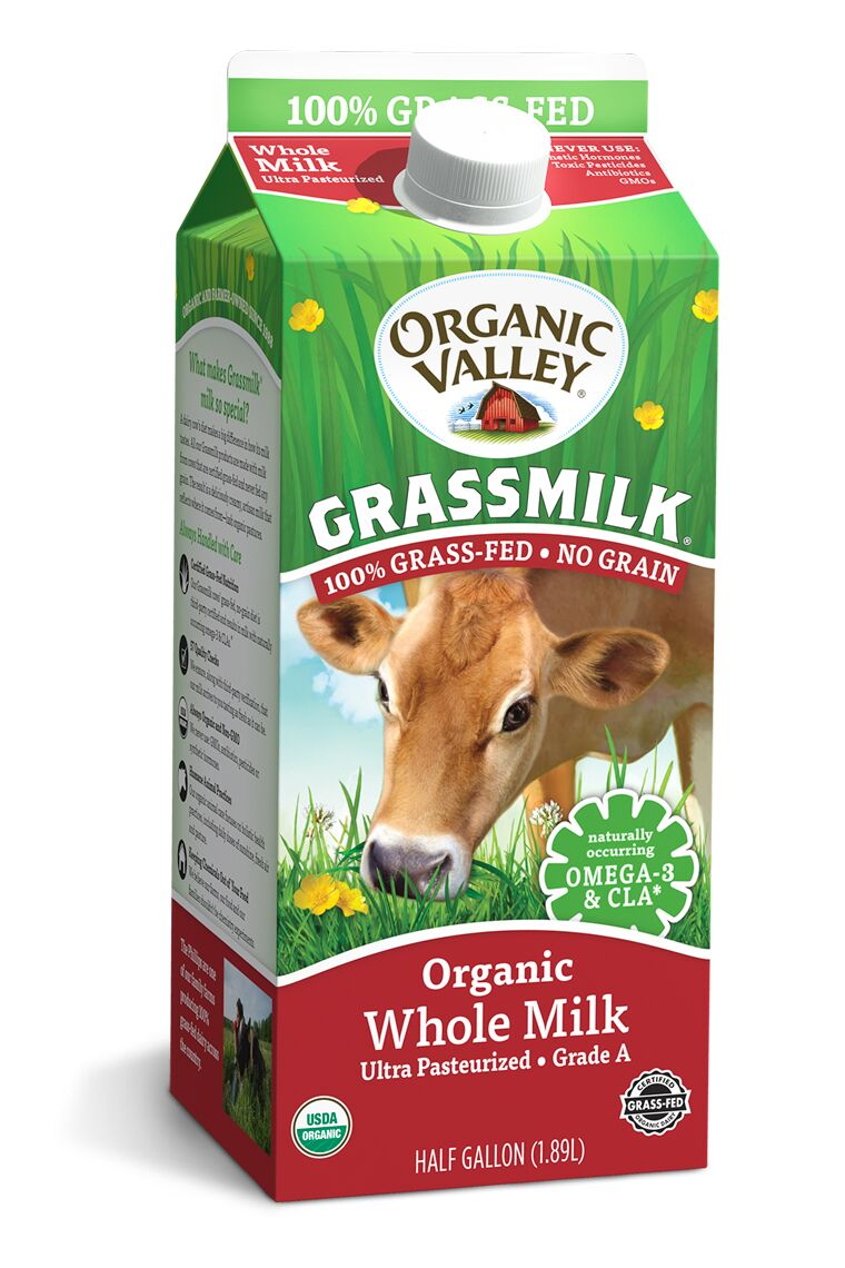 Grass-Fed Organic Milks
