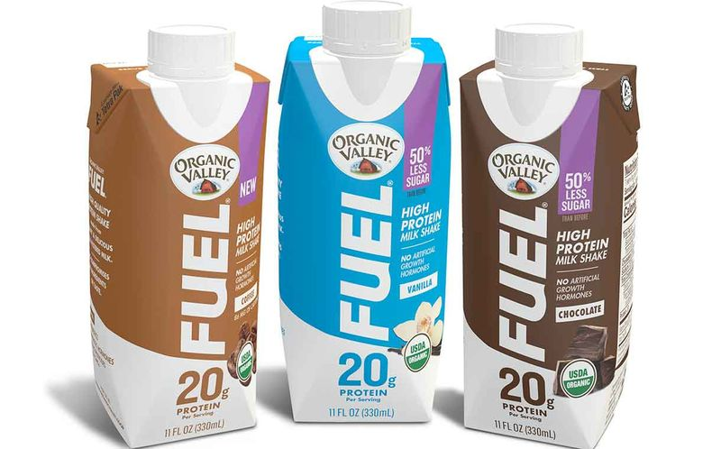 Reduced-Sugar Protein Milkshakes