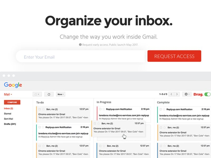Email Task-Sorting Solutions