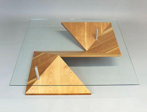 Illusory Paper-Folded Furniture