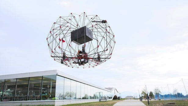 Origami-Inspired Delivery Drones