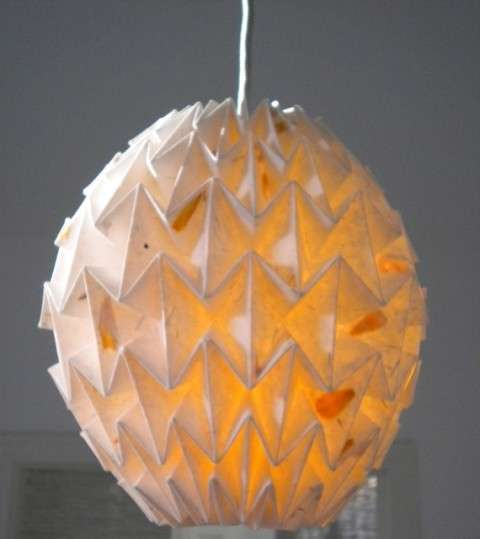 Folded Lampshades