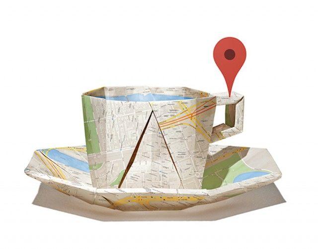 Creatively Folded Cartography
