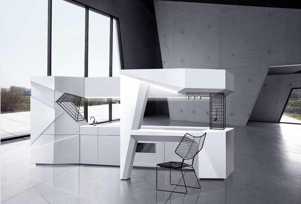 Folded Form Kitchenettes