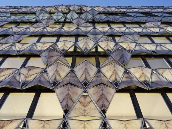 Folded Origami Facades