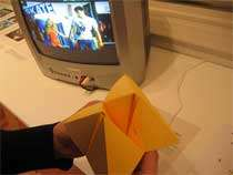 Origami TV Remote Control