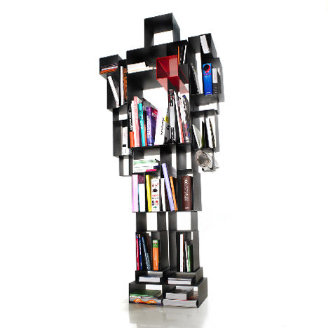 Geometric Robotic Shelves