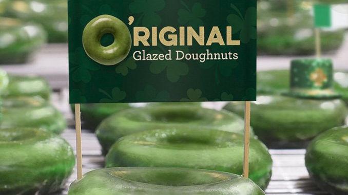 Festive St. Patrick's Day Donuts