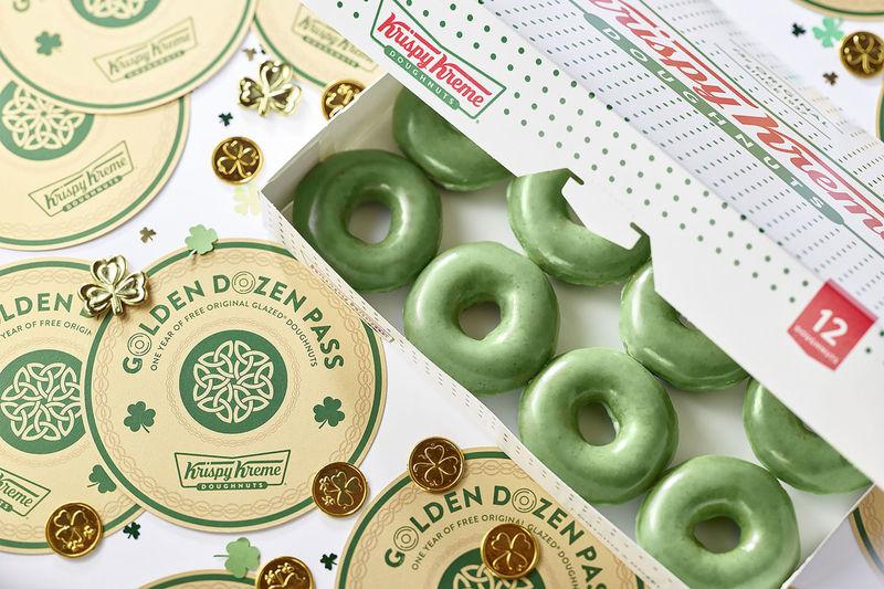 St Patrick's-Honoring Donuts