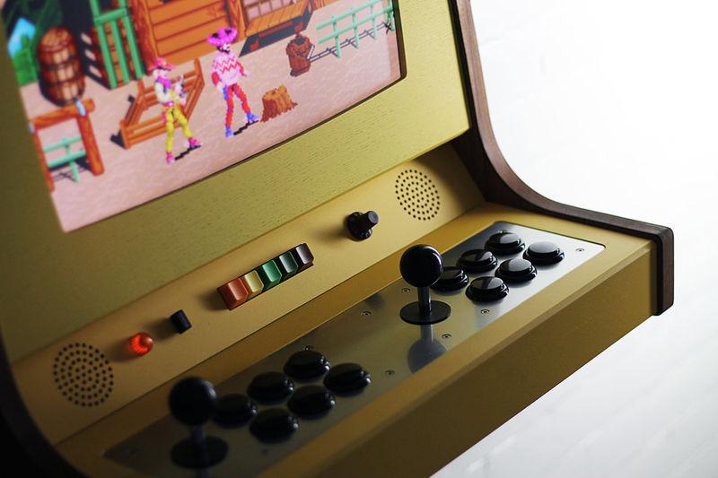 Handmade Retro Arcade Consoles