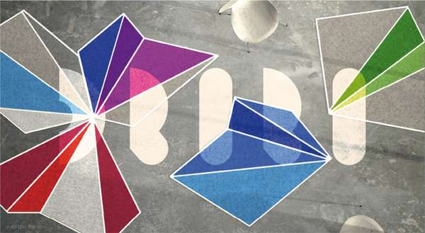Illusory Origami Rugs