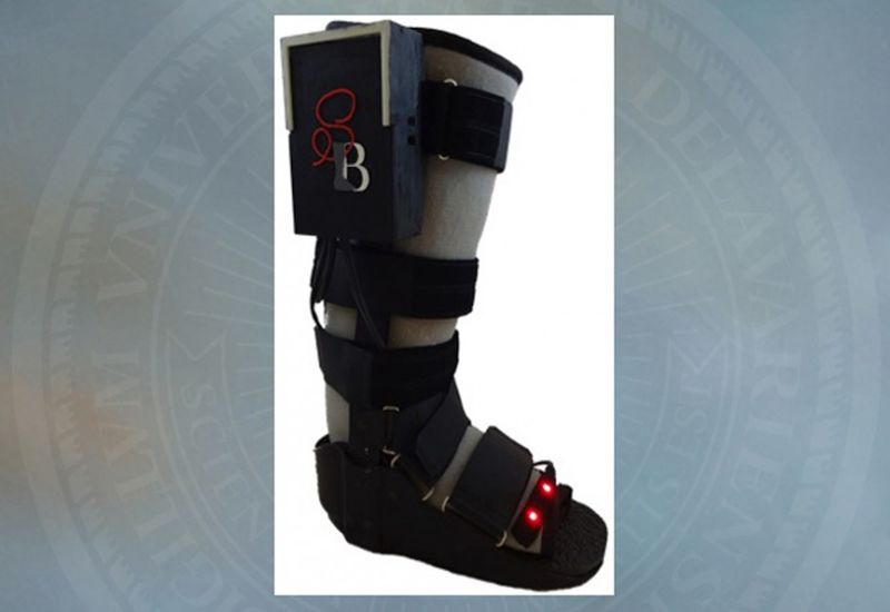 Data-Tracking Orthopedic Boots