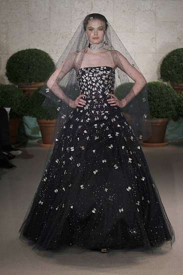 Dark Insectified Wedding Gowns