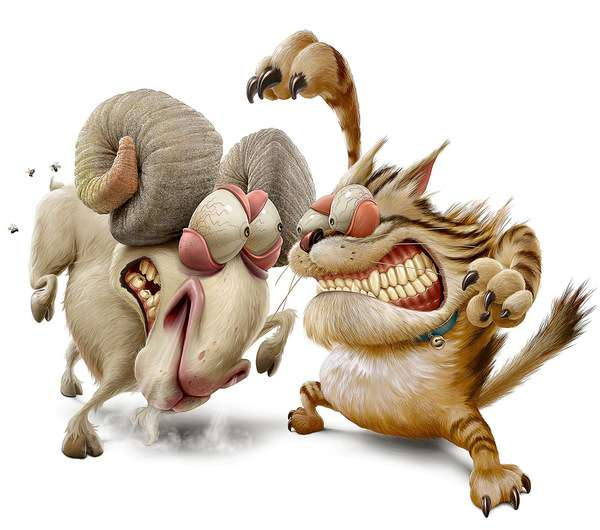 Cut-Throat Animal Creations