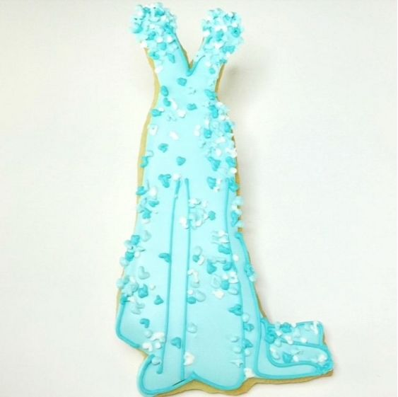 Award Gown Cookies
