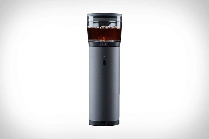 Pod-Powered Portable Coffee Brewers