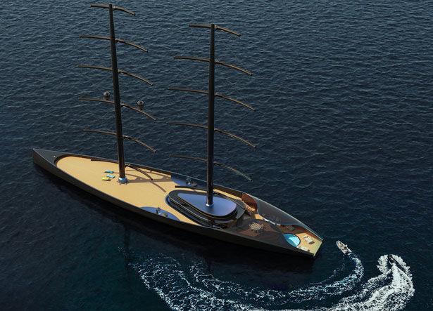 Luxury Accommodations Sailing Yachts