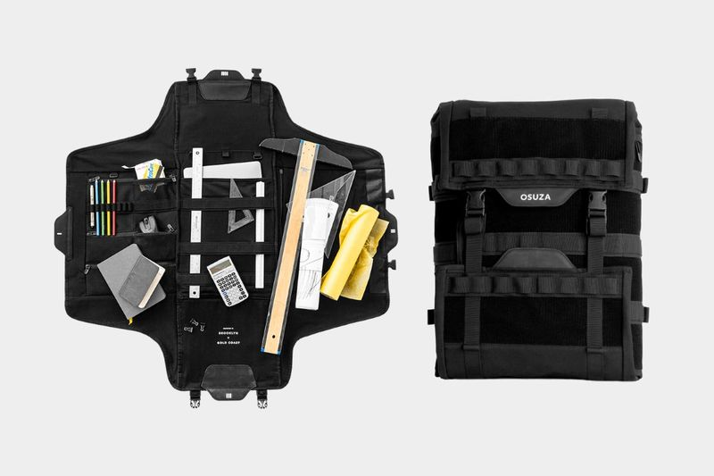 Open-Concept Organization Backpacks