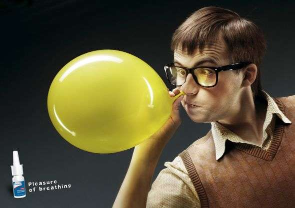 Nose Balloon Ads