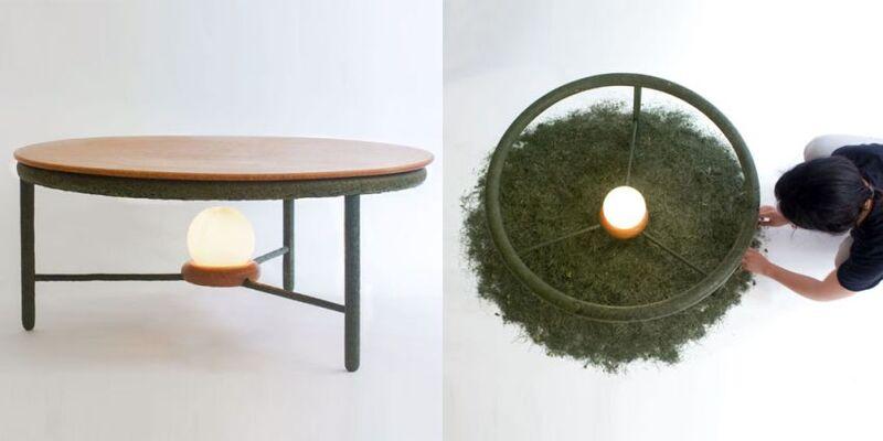 Upcycled Organic Matter Furniture