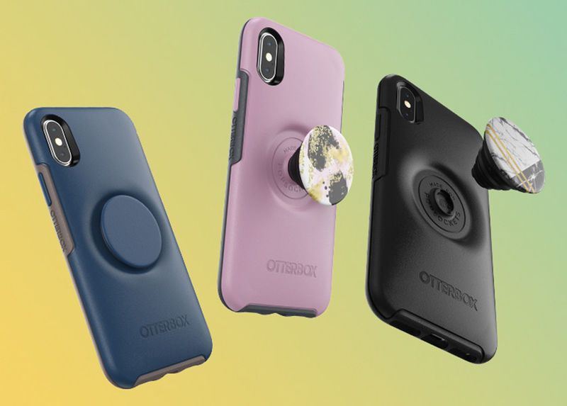 Grip-Integrated Phone Cases