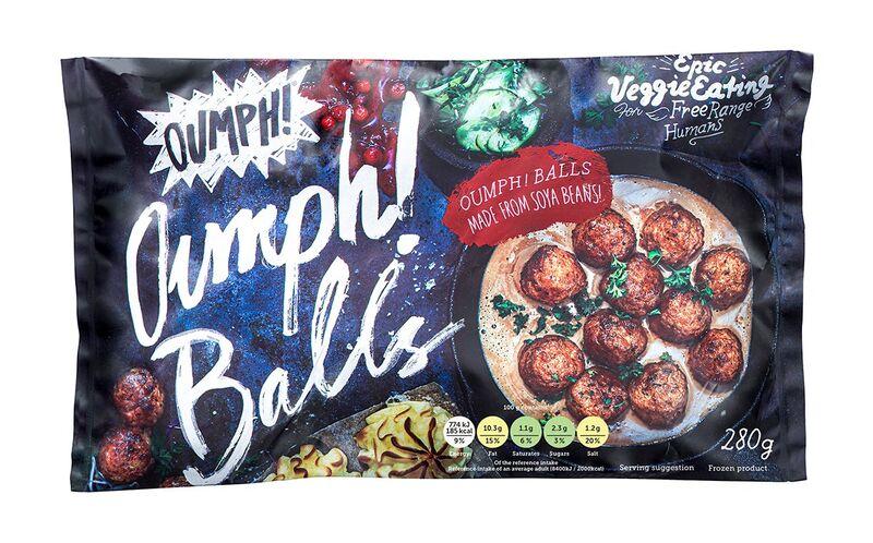 Frozen Plant-Based Meatballs