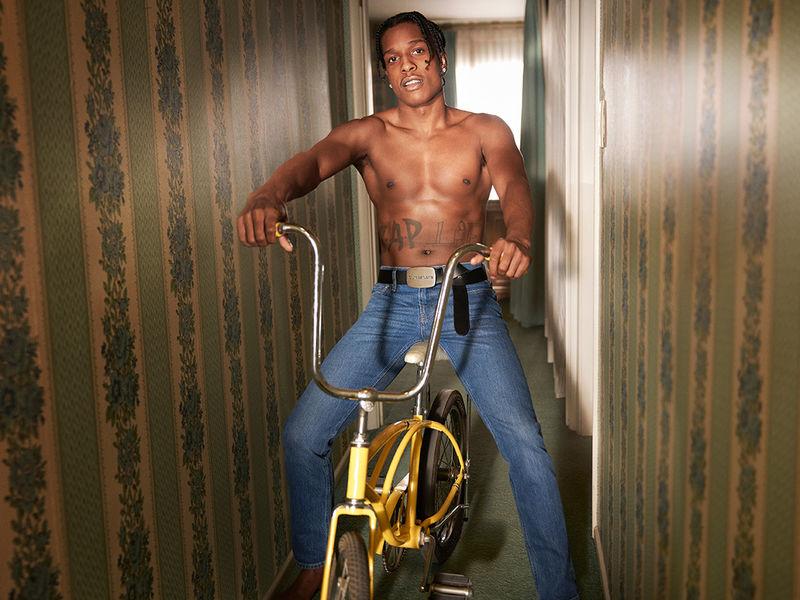 Celebrity-Modeled Underwear Campaigns