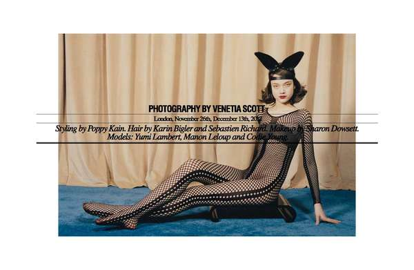 Couture Costume Editorials