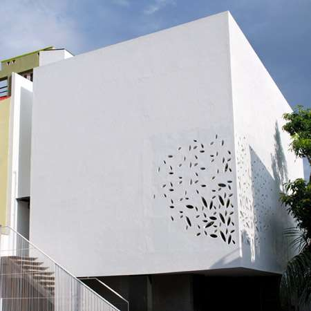 Doily Architecture Out Of The Box Cadence Residence
