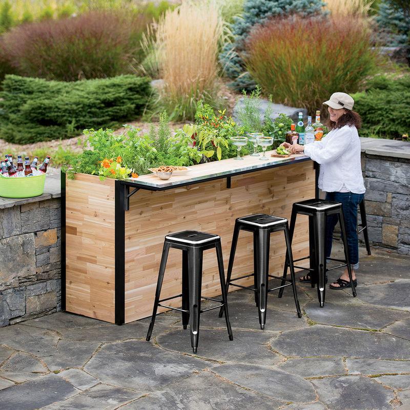Garden Embedded Exterior Bars Outdoor Bars