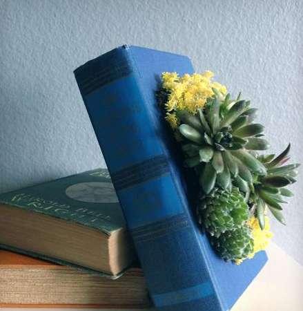 Deceptive Book Planters