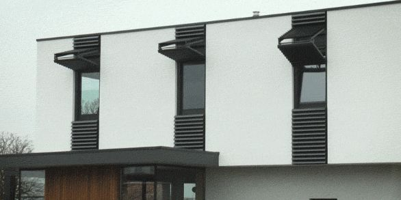 Vertical Sleek Shutters